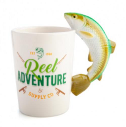 Fisherman 3D Mug