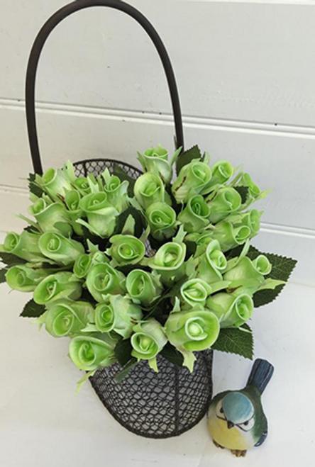 Green Rose Bunch