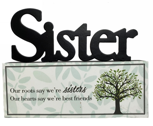 Sister Tabletop Sign