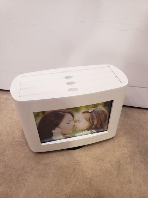 White Swivel Photo Box