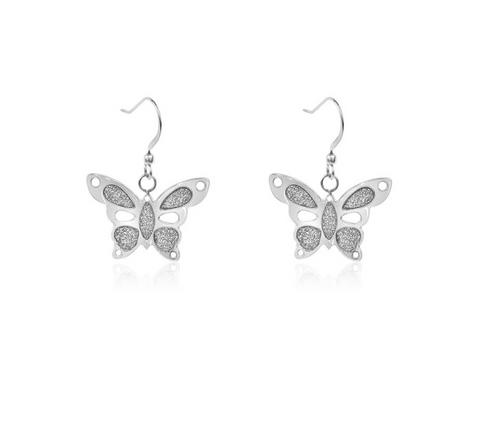 Butterfly Hook Earrings