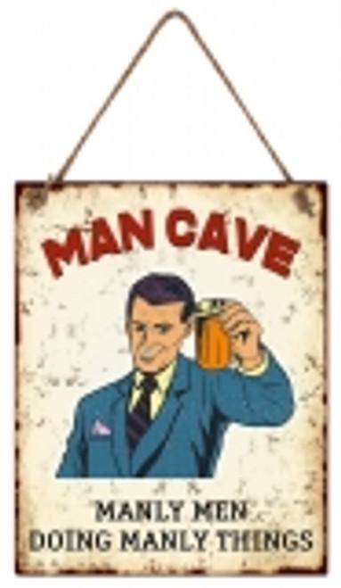 Manly Men- Man Cave Sign
