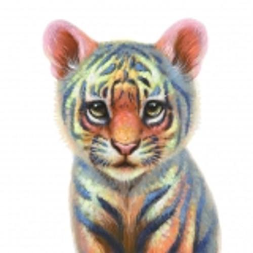 Tiger Cub Canvas