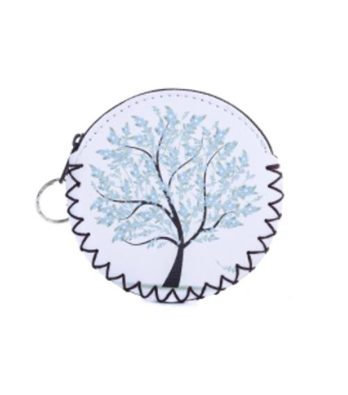 Blue Tree Coin Purse