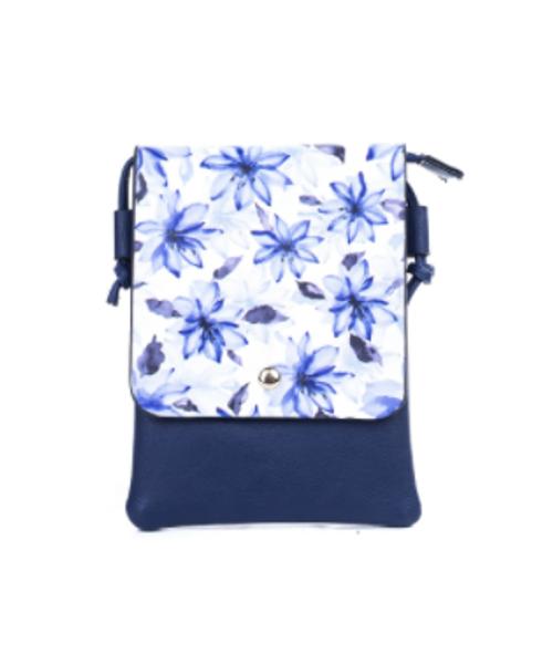 Purple Flowers Cross Body bag