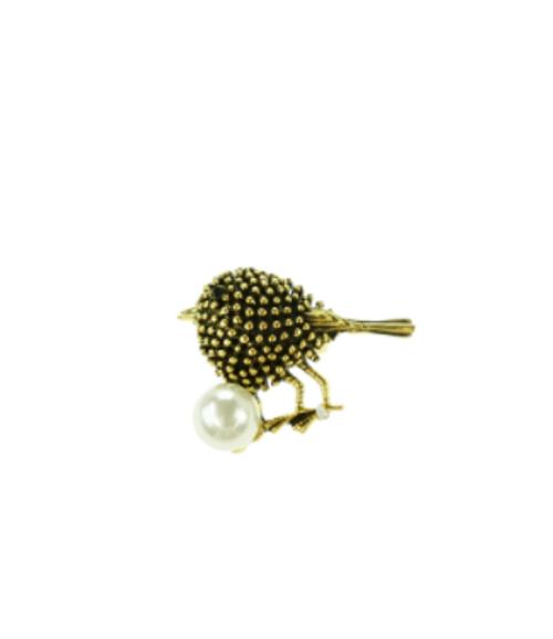 Spiky Bird Brooch