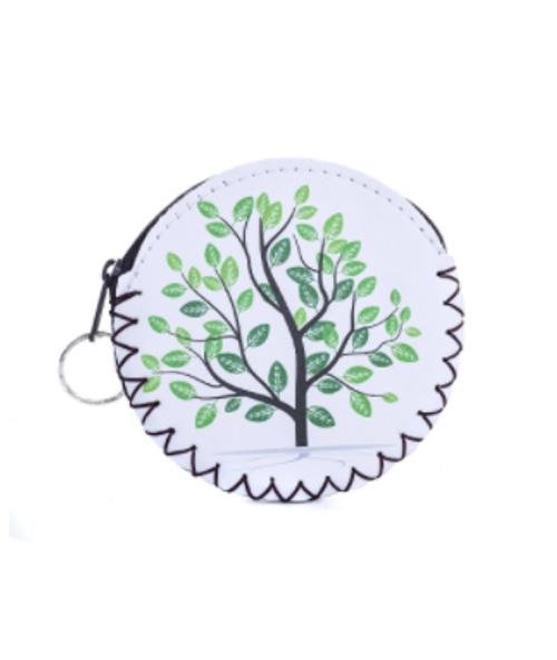 Green Tree Coin Purse