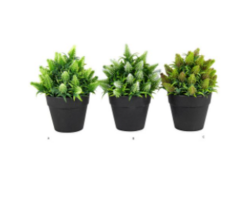 Artificial Potted Wild Grass