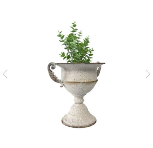Weathered Vintage Urn Planter