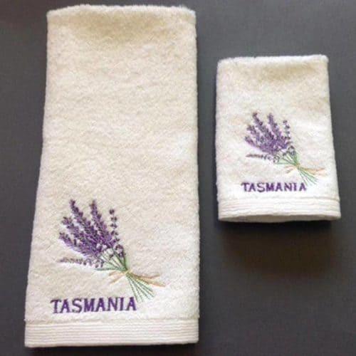 Tasmanian Lavender Face Washer