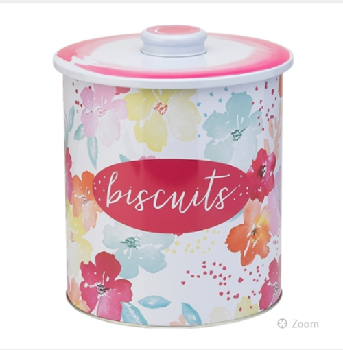 Sugar Bloom Biscuit Tin