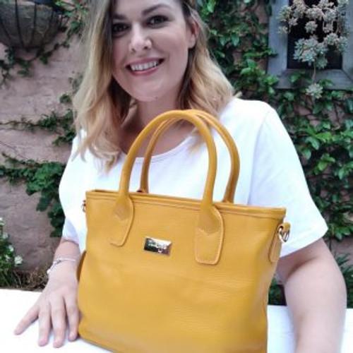 Dawn Leather Handbag