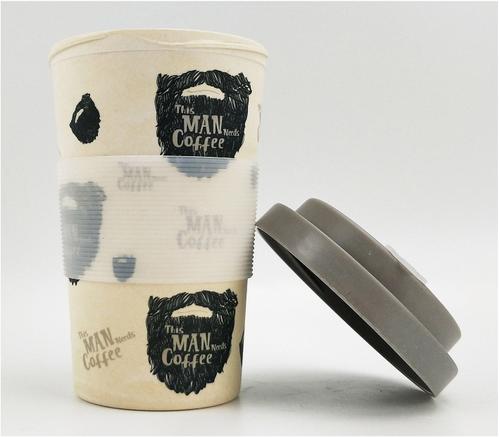 This Man Needs Coffee Eco Travel mug
