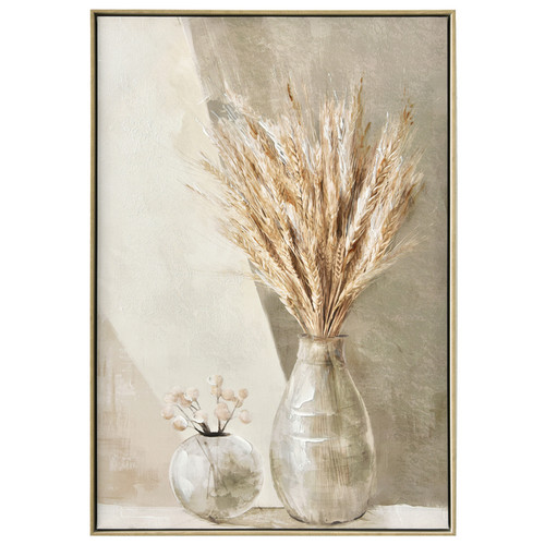 Neutral Wheat Painting