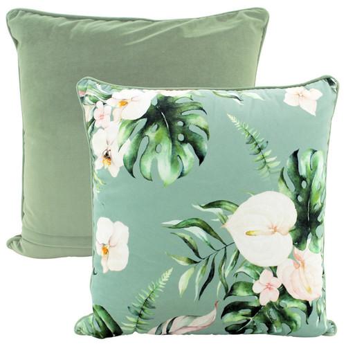 Spring Arrangement Velvet Cushion