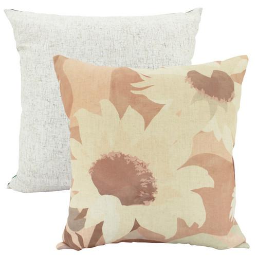 Sunflowers Linen Cushion