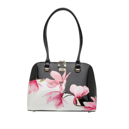 Magnolia Patent Leather Handbag
