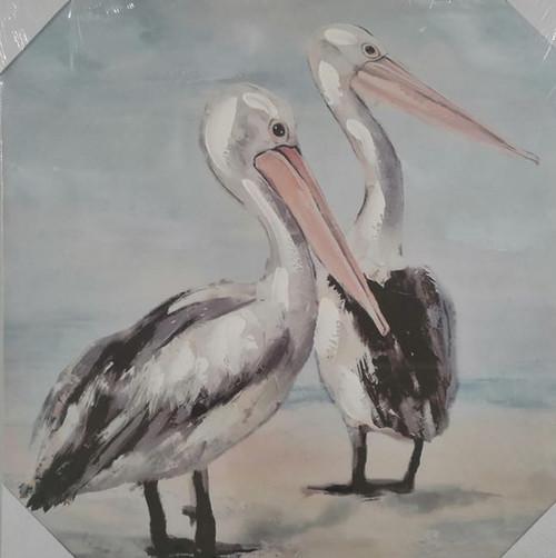 Pelican canvas 50cm x 50xm