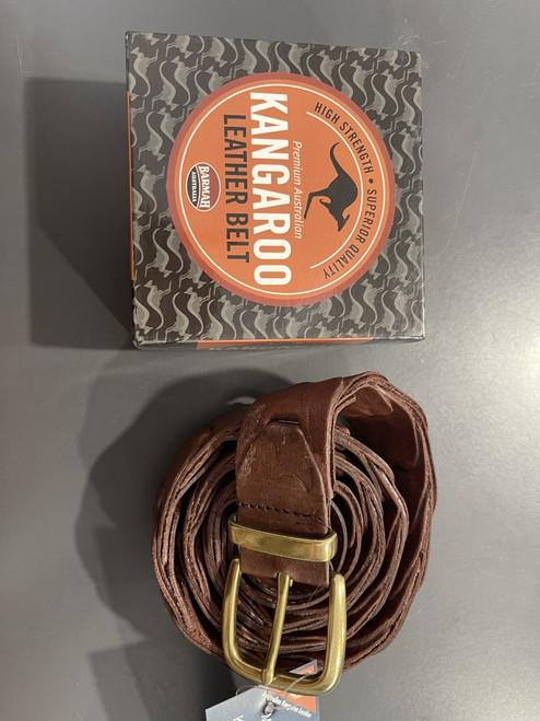 Genuine Kangaroo Leather Belt