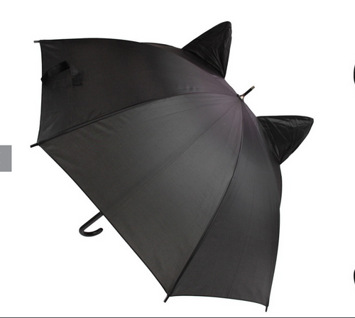Black Cat Ears Umbrella