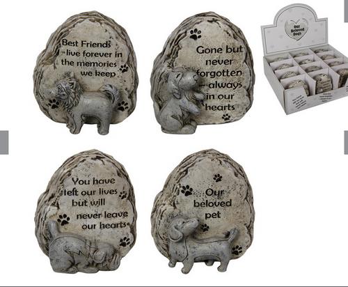 Dog Gravestone Ornament