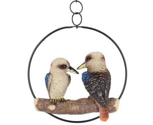 Hanging Kookaburra Duo