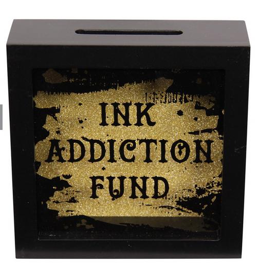 Ink Addiction Money Box