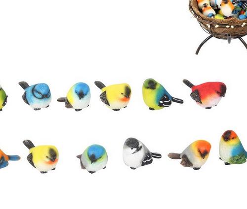 Mini Assorted Bird Ornaments