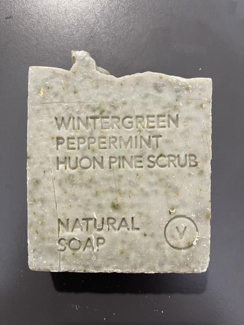 Wintergreen, Peppermint, Huon Pine Natural Soap