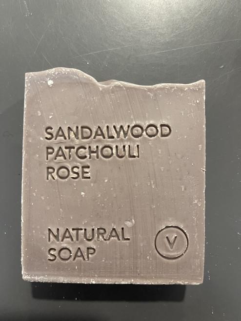 Sandalwood, Patchouli, Rose Natural Soap