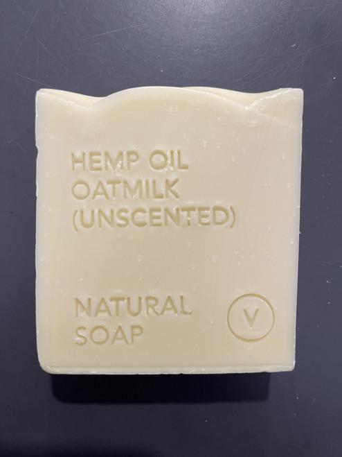 Hemp Oil, Oat Milk Unscented Soap