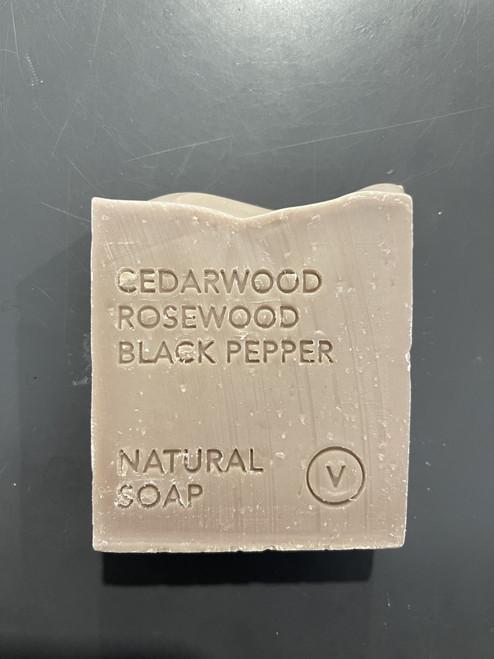 Cedarwood, Rosewood, Black Pepper Natural Soap
