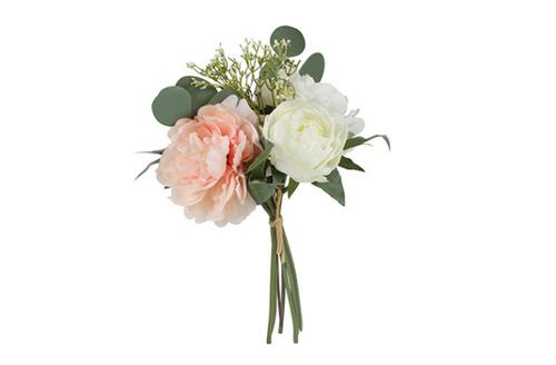 Eucalyptus, Rose, Hydrangea Bouquet