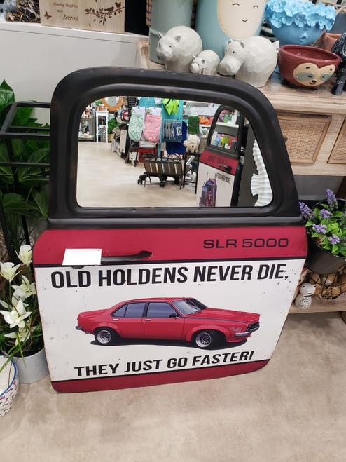 Red Torana 5000 Car Door Mirror