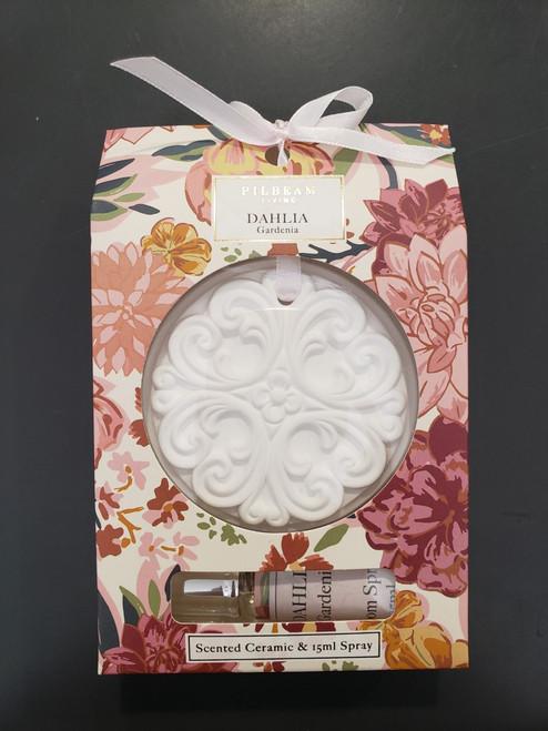 Dahlia Scented Ceramic Disk