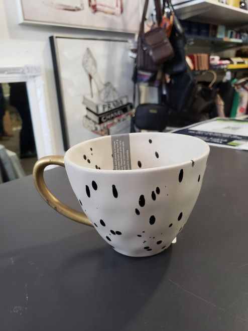 Polka Gold Speckle Mug 380ml