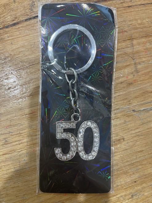 50th Keyring