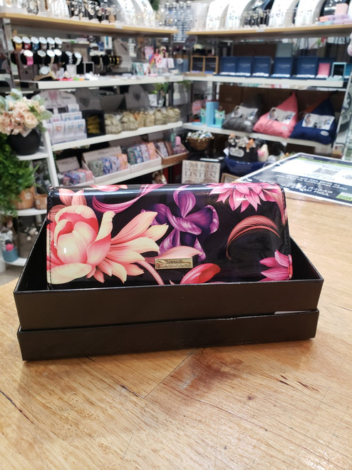 Cynthia Leather Large Wallet