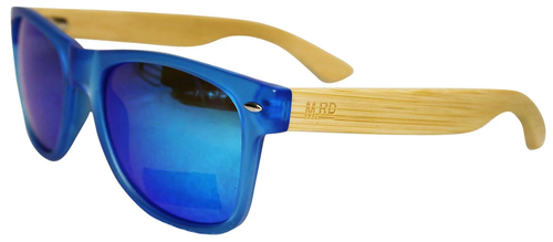 50/50 Blue with Blue Reflective Lens Sunglasses