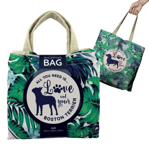 Shopping Bag Boston Terrier