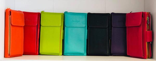 Indigo Phone Wallet