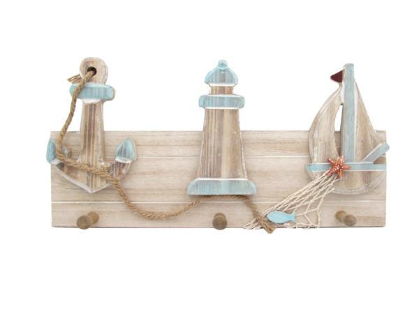 Boat Wall Coat Hanger