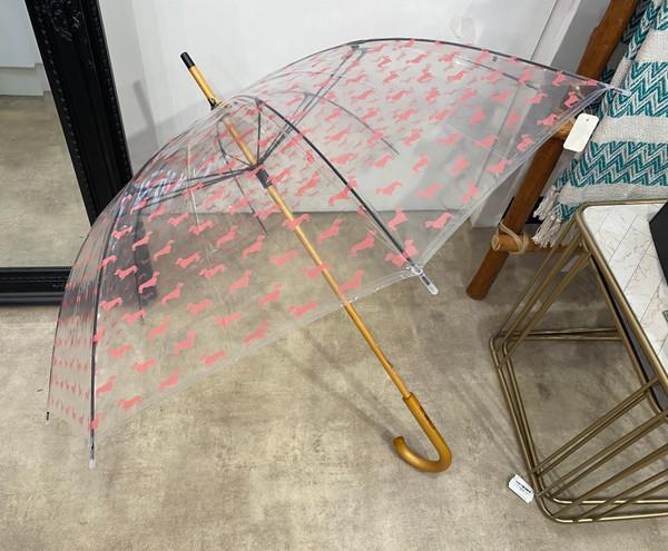 Umbrella - Pink Dachshunds