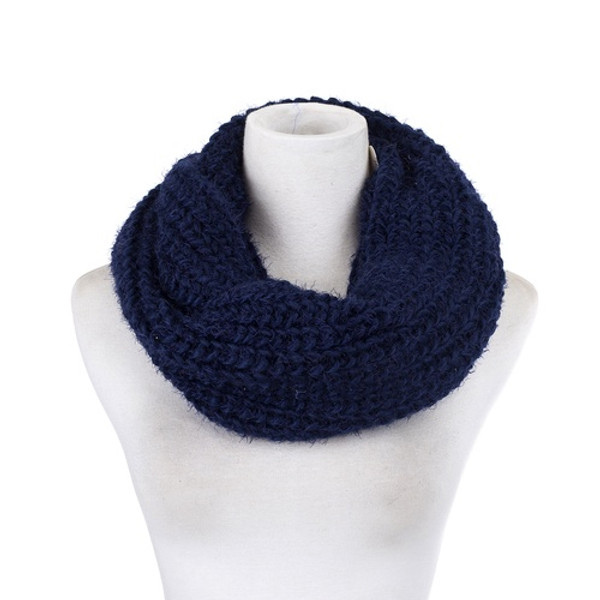 Fuzzy Knitted Snood