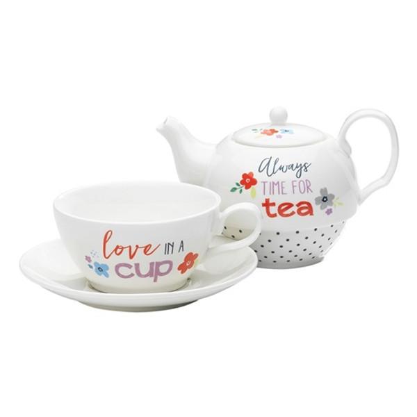 Time For Tea / Tea-For-1 Set