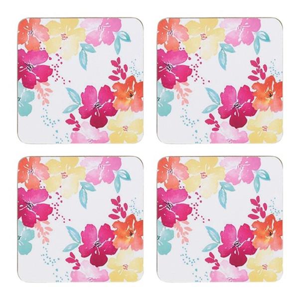 Summer Bloom Coasters / Set 4