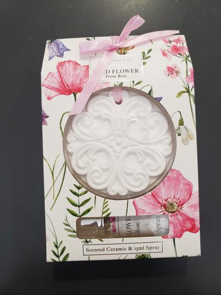 Wild Flower Scented Ceramic Disk