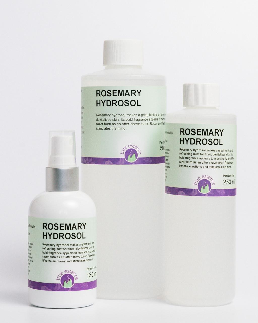 ROSEMARY (Rosmarinus officinalis) Hydrosol