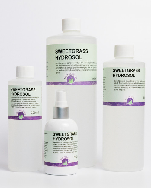 SWEETGRASS (Hierochloe odorata) Hydrosol