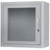 Cabinet for AED Storage under Indoor Environment with Sound Alarm